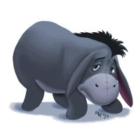 All Hearts - Eeyore by LynxGriffin