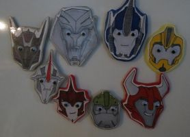 Transformers Prime fridgemagnets by Ailiya