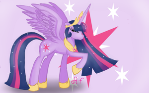 Twilight Sparkle Princess of Friendship by Rosy-forever