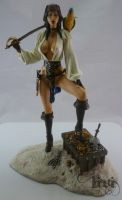 Belle of Tortuga - Captain Jackie Sparrow by Livi85