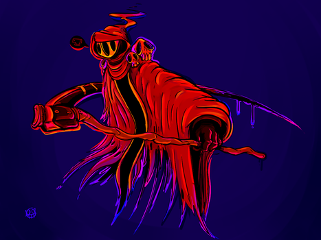 Specter Knight by mumblingmisfit
