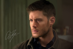 Dean Winchester digital drawing by Castielogically