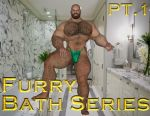 [B3] Buster Cover [Bath Pt1] [Furry] by Bodybeef