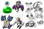 chibi monster rough ideas by rongs1234
