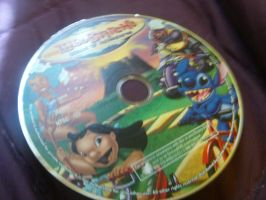 Lilo and Stitch island of adventures disc by Stitchthebest36