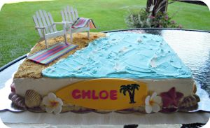 Beach Cake by cake4thought