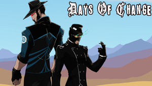 [TF2 Comic] - Days Of Change Banner by LanceHomicidalSniper