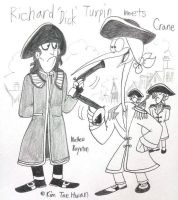 Richard 'Dick' Turpin meets Crane by komi114