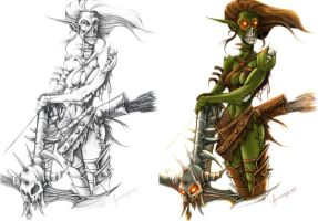 collab. dota scourge concept by unrealsmoker
