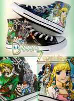 Zelda shoes by Raw-J