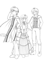 The Castle Corona_Royal Family by Tic-Tac-Tag