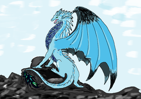 Dragon by Paint by ZombieAnti
