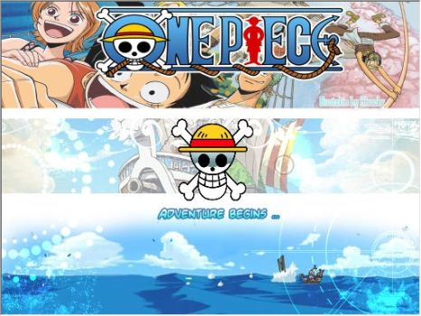 One Piece Bootscreen win 7 by pechucky