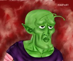 Piccolo is Handsome by Jezzy-Fezzy