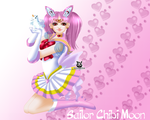 Sailor Chibi Moon by leylaana