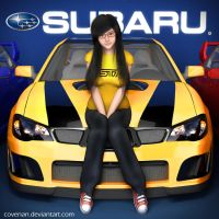 Ellie's Subaru WRX STI by covenan
