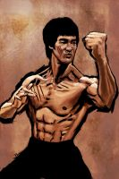 Enter the Dragon by brianlaborada