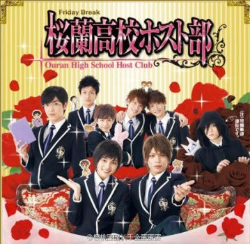 ouran host club live action ca by hilaryrules