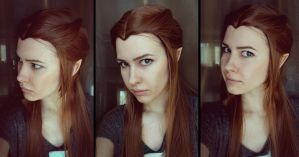 Tauriel test by Karenscarlet