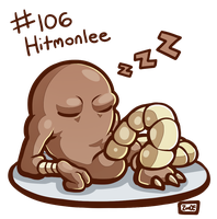106 - Hitmonlee by oddsocket