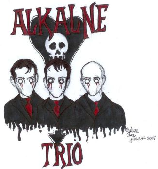 Alkaline Trio by Teenage-DeathGirl