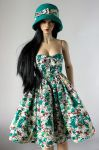 50's dress for BJD SD (Iplehouse EID) by Nulize