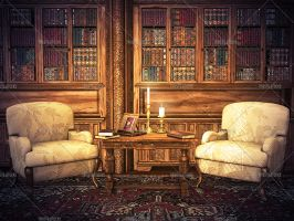 Library 4 by Trisste-stocks