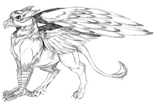 Gryphon by Galaxia