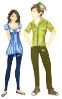 Peter and Wendy -Teenage by MOD37