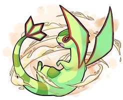 Flygon used Sandstorm by Kuitsumi