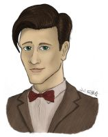 The Eleventh Doctor by YoSoWhenItSnows