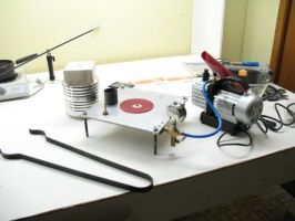 Home made vacuum system by Cloud-Dragonz