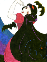 Vampiress Snow White by treznorspants