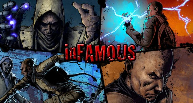inFAMOUS wallpaper by FurryRogue