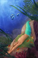 Warm Waters: Under the sea by vongue