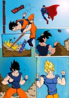 Goku vs superman the ultimate battle (2 of 4) by ultimatejulio