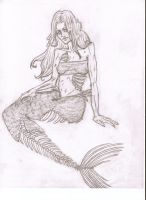 Zombie Mermaid by ValyGrlVentriloquist