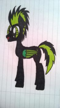 Electric in my new art style by ElectricNight22