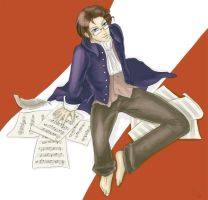 Hetalia: Austria by Erlan-Grey