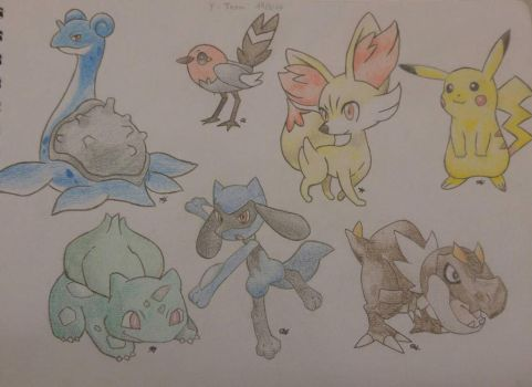 Pokmon Team by Firnen99