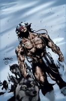 Wolverine Weapon X by MarcBourcier