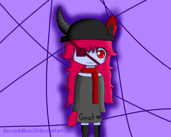 Art Trade: Gaia The Goat by ILuvCuddlezx3