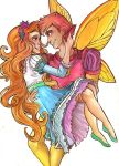 Thumbelina and Cornelius by Dykah