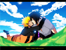 SasuNaru :Doesn't matter: WO M by ColorMe-Ran
