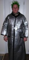 Duct Tape Trench Coat by Knifejosh