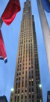 My Trip NY: Rockefeller Center by SonicChick