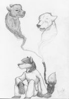 Chaining down my emotions... by Wandering-wolves