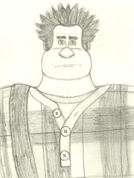 Wreck-it Ralph (in my style) by DisneyThorn92