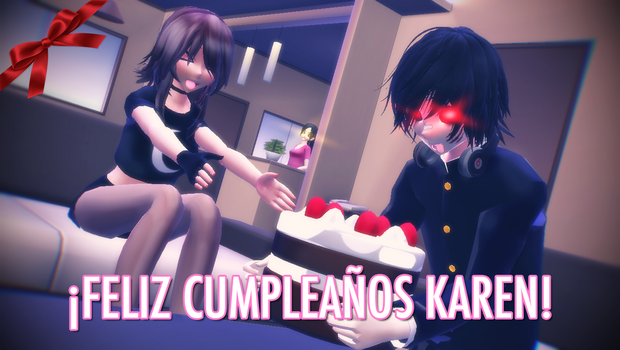 Happy Birthday Karen! by i-see-you1