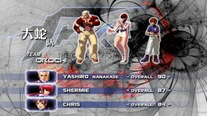 KOF XIV-Orochi Team by Zaible
